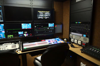 Production Trailer Interior Equipment