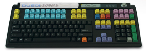 Graphics Outfitters Dueo! Keyboard for Lyric.