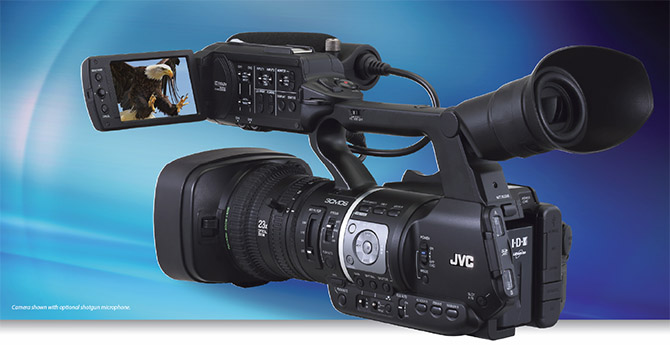 JVC - GY-HM620 - Handheld Mobile News Camera