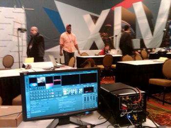 On Location at Superbowl 45